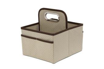 (Beige) - Delta Children Portable Nursery Caddy, Beige