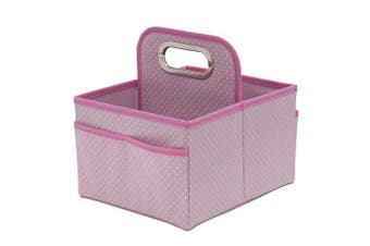 (Barely Pink) - Delta Children Portable Nursery Caddy, Barely Pink