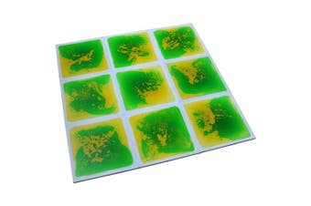 (green-yellow) - Art3d Non-Toxic Children Play & Exercise Mat - Puzzle Play Mat for Kids, Toddlers or Baby, 20 X 20 Dynamic Green-Yellow