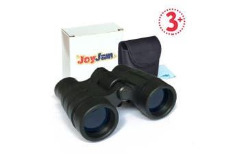 (Black) - Joyjam Compact Shock Proof Kids Binoculars, Best Gift for Boys & Girls (Multi-Colour)