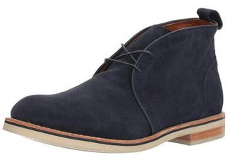 (11.5 UK, Navy Suede) - Allen Edmonds Men's Nomad Chukka Ankle Boot