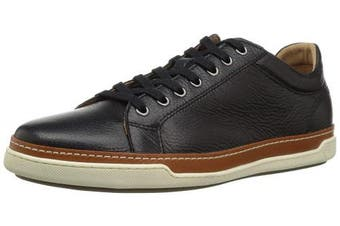 (6.5 UK, Black Grain) - Allen Edmonds Men's Porter Derby Sneaker