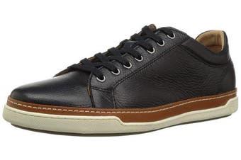 (7.5 UK, Black Grain) - Allen Edmonds Men's Porter Derby Sneaker