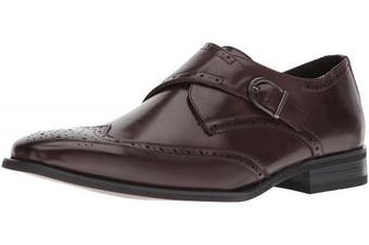 (13 D(M) US, Brown) - Unlisted by Kenneth Cole Men's Bryce Monk-Strap Loafer