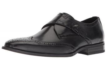 (9 UK, Black) - Unlisted by Kenneth Cole Men's Bryce Monk-Strap Loafer