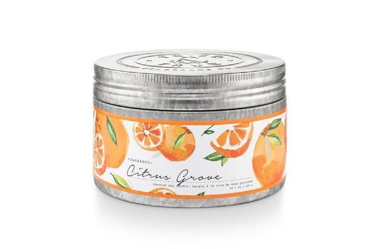 Tried and True Citrus Grove Large Tin Scented Candles 420ml