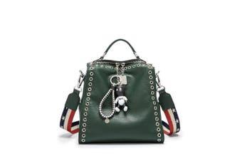 (Dark Green) - Women's Backpack Handbags Shoulder Bags School Backpack Daypack Laptop Bag PU Leather