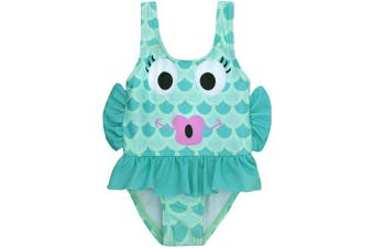 (12 - 18 Months, Fish) - BABY TOWN Infant Baby Girls Novelty Swimming Costume Swimsuit