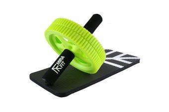Mirafit Power Ab Roller & Knee Pad - Improve Core Strength