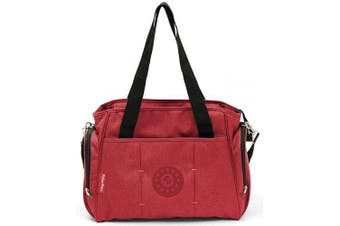 Fisher-Price Mama Bag+Acc, 37 X 17 X 32.5 cm, Red