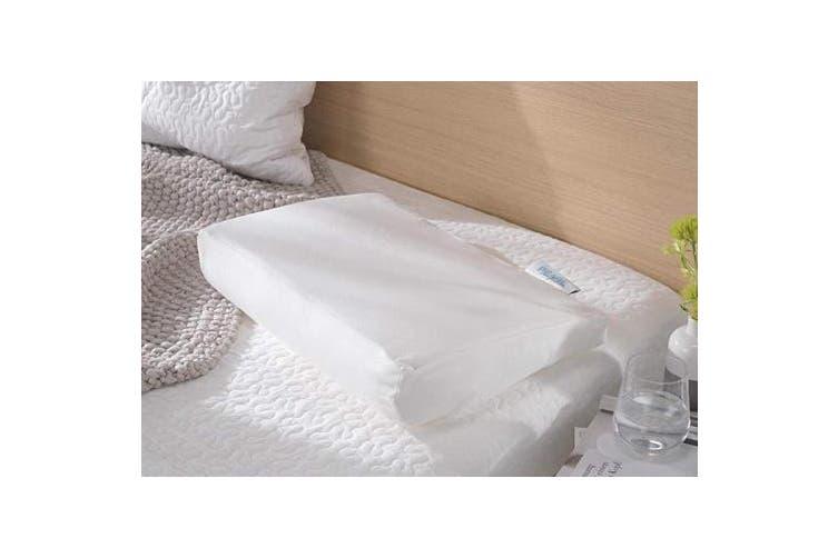 (12 (EU), White) - Theraline Pearlfusion Pillows - White, 12