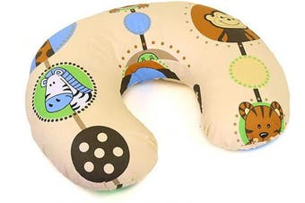 (Jungle) - Cover Feeding Pillow Nursing MATERN ITY Baby Pregnancy Breastfeeding - ONLY Cover (Jungle)