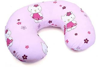 (Hello kitty) - Cover Feeding Pillow Nursing MATERN ITY Baby Pregnancy Breastfeeding - ONLY Cover (Hello Kitty)