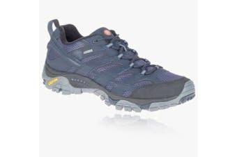 (8.5 UK, Navy Blue) - Merrell Men's Moab 2 GTX Low Rise Hiking Boots