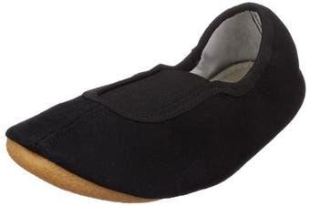 (12 UK, Black - Black) - Beck Unisex - Adult Basic weiss, schwarz Sports Shoes - Gymnastics