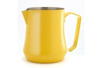 Motta MO-04250/00 Stainless Steel Tulip Milk Pitcher/Jug, 500ml/50 Cl, Yellow