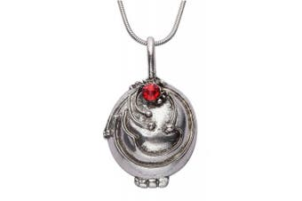 (Silver with Box) - Vampire Diaries Elenas Vervain Necklace for Girls