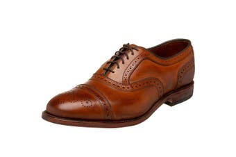 (7 UK, Walnut) - Allen Edmonds Men's Strand Cap-Toe Oxford