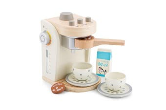 New Classic Toys 10705 - Kitchen & Food Toys - Coffee Maker - White