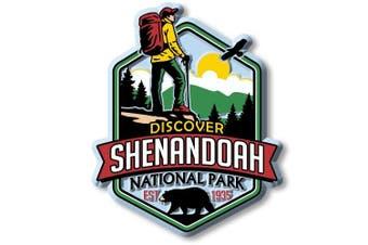 Discover Shenandoah National Park Magnet