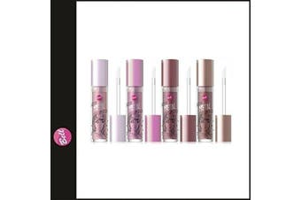 (01 - 191 DON'T STOP) - Bell Liquid Metal Lipstick Most Trendy 4 Colours (01 - 191 DON'T STOP)
