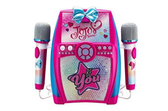 EKids JJ-615 Deluxe Sing Along Boombox with Dual Microphones