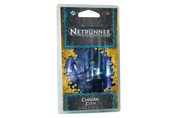 Giochi Uniti Android Netrunner LCG: Chrome City Card Game