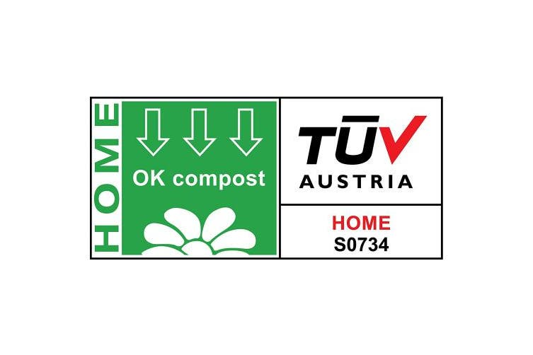 (70) - TSP Home Compostable Kitchen Caddy Bin Liners, 70 Food Waste Bags, 20 Litres - suitable for garden composting - 100% Compostable and Biodegradable - certified according to OK Compost HOME and EN 13432