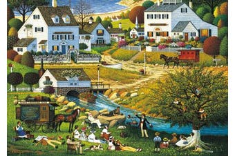 Buffalo Games Charles Wysocki Hound of the Baskervilles 300 Large Piece Jigsaw Puzzle