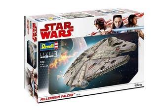 Revell GmbH 06718 Star Wars Han Solo Millennium Falcon Model Kit, 1:72 Scale