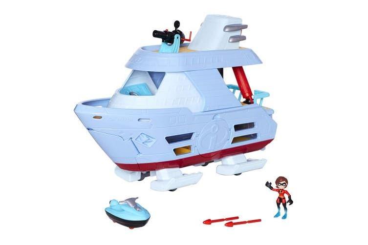 (Hydroliner Playset) - Incredibles 2 Hydrofoil Adventure Playset