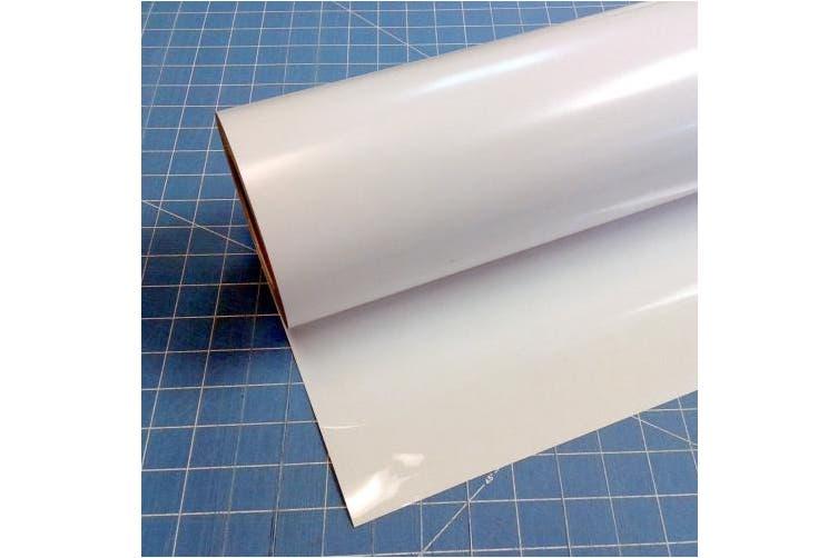(38cm x 3m, White) - Siser Easyweed Iron on Heat Transfer Vinyl Roll HTV - White - 38cm x 3m
