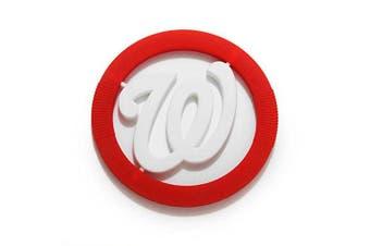 (Washington Nationals) - Chewbeads MLB Gameday Teether, 100% Safe Silicone - Washington Nationals