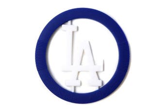 (Los Angeles Dodgers) - Chewbeads MLB Gameday Teether, 100% Safe Silicone - Los Angeles Dodgers
