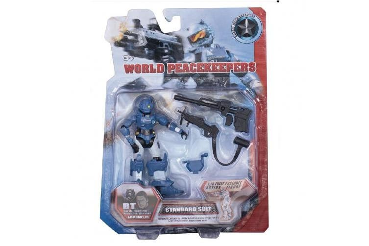 World Peacekeepers Ammobot Figure Assorted 10cm Assorted