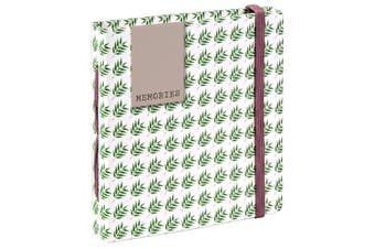 Hama 6080cm Fern Slip-in Photo Album - Green/White