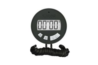Taylor Precision Products 5826 Chef's Stopwatch Timer, Standard, Black
