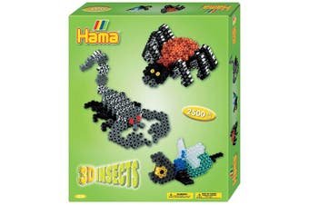 Hama Beads 3D Insects