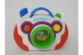 Allkindathings My First Baby Camera Battery Toy Fun with Musical Sounds and Light Effects Study