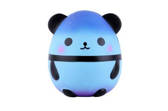 (Galaxy) - Anboor Squishies Panda Egg Slow Rising Kawaii Scented Soft Animal Squishies Toys Colour Random