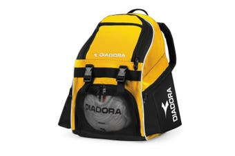 (Gold/Black) - Diadora Squadra Backpack