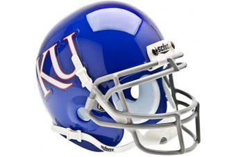(Kansas Jayhawks) - NCAA Kansas Jayhawks Collectible Mini Helmet