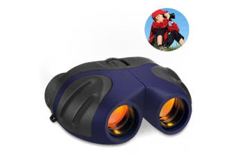 (blue3) - TOP Gift Compact Shock Proof Binoculars for Kids -Best Gifts