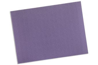 (Lavender – 19% OptiPerf, 0.3cm  x 46cm  x 60cm  –Single Sheet) - Rolyan Splinting Material Sheet, Aquaplast-T Watercolours, Lavender, 0.3cm x 46cm x 60cm , 19% OptiPerf Perforated, Single Sheet