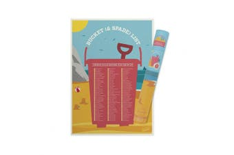 (Bucket & Spade) - Bucket and Spade List, Things To Do Before You Grow Up, Fun Gift - Luckies of London