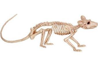 (Standard, Off White) - Crazy Bonez Skeleton - Rat Bonez