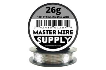 Stainless Steel 316L - 30m - 26 Gauge Wire