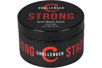 (90ml) - Strong Semi-Matte Paste - Firm All-Day Hold, Slick Finish - Best Men's Styling Paste - Water Based, Clean & Subtle Scent, Travel Friendly. Hair Wax, Fibre, Clay, Pomade, and Cream, All In One