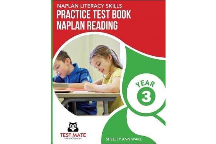 NAPLAN LITERACY SKILLS Practice Test Book NAPLAN Reading Year 3
