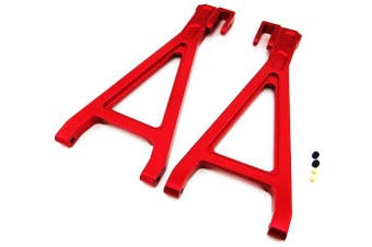 (Rear Lower Arm, Red) - Atomik RC Alloy Rear Lower Arm, Red fits the Traxxas 1/10 E-Revo and Other Traxxas Models - Replaces Traxxas Part 5333/5333R